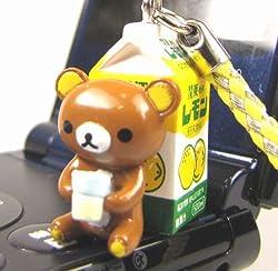 【栃木県限定】 関東・栃木レモン × リラックマ 根付ストラップ