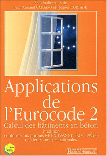 Applications de l'Eurocode 2 : Calcul des bâtiments en béton