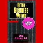 Better Business Writing | Carol Gelderman