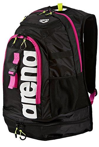 Arena Fastpack 2.1 Zaini - Nero/Fucsia/Bianco, Large, Large