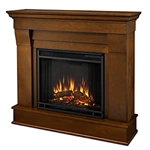 Real Flame 5910e Electric Fireplace Small Espresso Home Kitchen