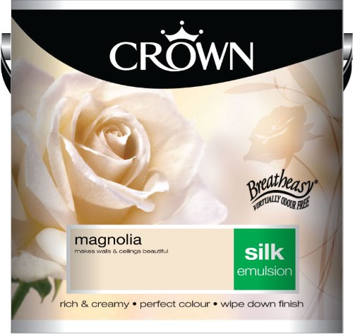 Crown Silk 2.5L Emulsion - Magnolia