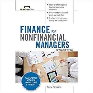 Finance for Nonfinancial Managers, Second Edition Audiobook