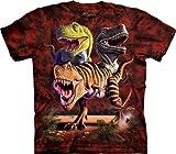 The Mountain Rex Collage T-Rex Child T-shirt L