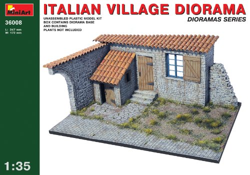 1/35 Italian Village Diorama