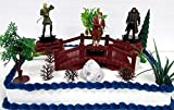 """THE HOBBIT Unexpected Journey 12 Piece Birthday Cake Topper Set Featuring Hobbit Figures and Themed Decorative Accessories - Figures Average 3"""" Tall"""