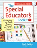 The Special Educators Toolkit: Everything You Need to Organize, Manage, and Monitor Your Classroom