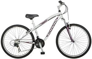 Schwinn Ladies High Timber Mountain Bike, Silver, Small by Schwinn