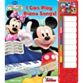 MICKEY MOUSE CLUBHOUSE- I CAN PLAY PIANO (Little Piano Book)