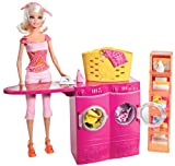 Barbie Laundry Room and Doll