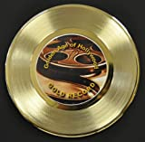 Gladiator Edition Gold 45 Record Display. Only 500 made. Limited quanities. FREE US SHIPPING