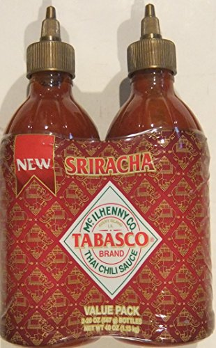 Tabasco Sriracha Thai Chili Sauce Value Pack 20 Ounce (Pack of 2) (Sweet And Spicy Tabasco Sauce compare prices)