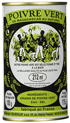 Madagascar Green Peppercorns in brine 6.17oz, 1 PACK