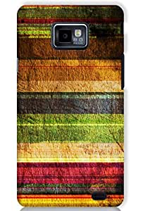 IndiaRangDe Case For Samsung Galaxy S2 II I9100 (Printed Back Cover)