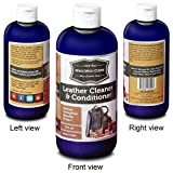 Leather Conditioner. Leather Cleaner. Leather Care. Mega Size 16 FL OZ. Luxurious Leather Lotion for Your Designer and Fine Leather Goods. Protect Your Leather Investment. Made in USA!