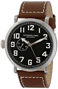 Stuhrling Original Men's 721.01 Octane Monterey L Analog Display Quartz Brown Watch