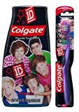 One Direction 1D Soft Toothbrush + MaxFresh Liquid Gel Toothpaste Set