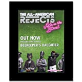 ALL AMERICAN REJECTS - Kids in the Street Matted Mini Poster - 28.5x21cm