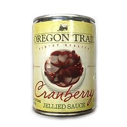 Oregon Trail Cranberry Jellied Sauce