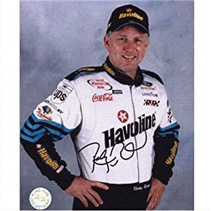 Ricky Rudd Autographed Havoline 8x10 Photo by PalmBeachAutographs.com