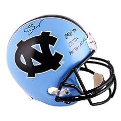 Giovani Bernard North Carolina Tar Heels Autographed Riddell Replica Helmet with...