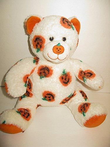 b6ee8fea803 Build A Bear Teddy Bear Pawsome Halloween White Pumpkin Babw Retired 15