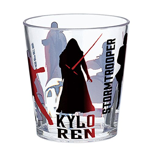 Japan Disney Official Star Wars the Force Awakens - Kylo Ren Stormtrooper Red Acrylic Clear Transparent Water Cup Break-resistant Beverage Plastic Reusable Glasses Tumbler Dish Dishware Dinnerware (Porcelain Red Solo Cup compare prices)