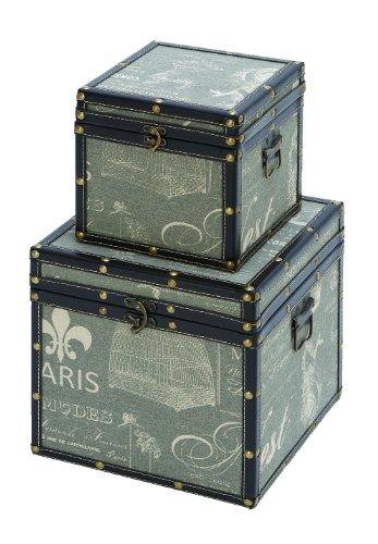 Woodland Imports Paris Trinket Box front-531663