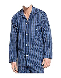 Polo Ralph Lauren Plaid Woven Cotton Pajama Top Harwich Plaid Large