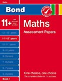 J M Bond Bond Maths Assessment Papers 11+-12+ years Book 1