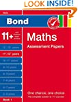 Bond Maths Assessment Papers 11+-12+...