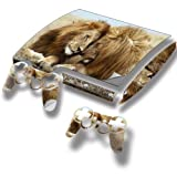 """Wild Animals"" 10108, Sticker for PlayStation 3 Slim Game Console."