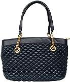 Urbane chics Women's Handbag (Blue, CU-39DarkBlue)