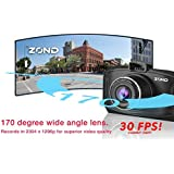 2016 Eagle Edition 1296p Dash Cam By Zond-170 Degree Wide Angle Lens-Full HD Super HD 2560x1080P At 30fps-2.7...