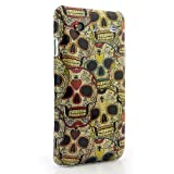 CaseiLike® Retro Skull Pattern i9070 Snap-on hard case back cover for Samsung Galaxy S Advance i9070 with Screen Protector