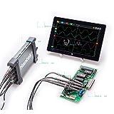 テスト機器PCベースのUSB2.0デジタルストレージオシロスコープ 4CH 200MHz 1GSa/s 8bits 64K