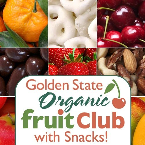 Organic Fruit and Snack Club - Select 3, 6, 9 or 12 Months (12 Month Option) (Yogurt Covered Dried Cherries compare prices)