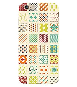 99Sublimation All In One Pattern 3D Hard Polycarbonate Back Case Cover for Apple iPhone 6S
