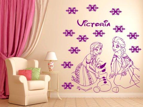 frozen zeichen anna princes elsa und olaf zusammen spielen personalisierbar m dchen. Black Bedroom Furniture Sets. Home Design Ideas
