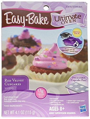 Easy Bake Easy Bake Oven Red Velvet Cupcake Mix With Pan