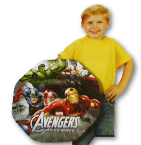 Avengers Assemble Inflatable Shield- Inflates 16.1""