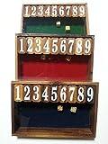 Jackpot Dice Game (Wood)  ジャックポット ダイス ゲーム(木製)  【並行輸入品】 【Smallサイズ】 縦15.7cm 横24cm 高4.2cm 重200g
