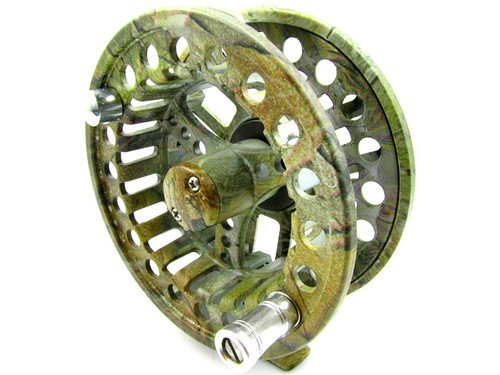 New 2+1 Bb Aluminum Fly Reel Flying Fishing Trout Size 9/11 Camouflage Color