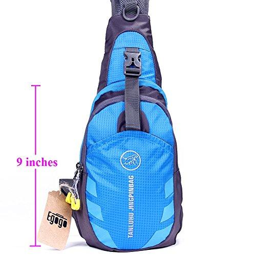 Multi-functional 3 Layers Hi Sling Bag Mini-Bag for Men & Women