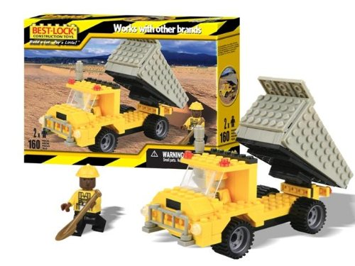 Best-lock Construction Toys Dump Truck - 1