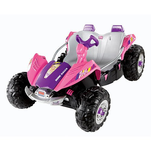 Power Wheels Barbie Dune Racer Ride-on