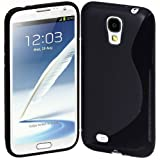 Cimo S Case Back Flexible TPU Cover for Samsung Galaxy S IV S4 GS4 4 - Black