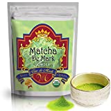 USDA Organic Matcha Green Tea Powder By Matcha De Mark- Excellent Metabolism Booster, Natural Energy Aid For Weight Control & Wellness- Full 5oz Size