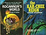Rocannon's World / The Kar-Chee Reign (Classic Ace Double G-574) (0441075746) by Avram Davidson