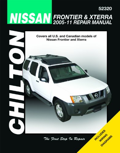 Chilton Total Car Care Nissan Frontier & Xterra, 2005-2011 Repair Manual (Chilton's Total Car Care Repair Manuals) (Nissan Frontier Vault compare prices)